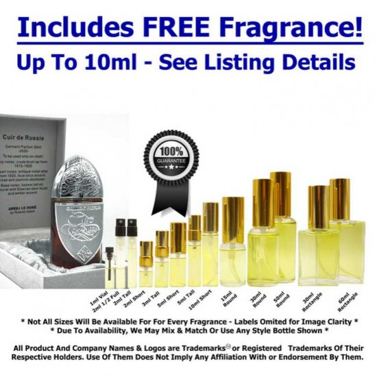 Areej le Dore Cuir de Russie Sample-Decants   Affordable decants and samples   fragnanimous.com