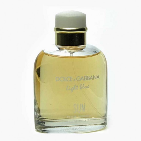 Dolce and Gabbana Light Blue Sun Pour Homme-125ml | Affordable decants and samples | fragnanimous.com